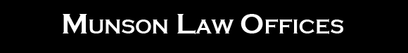 Munson Law Offices Logo